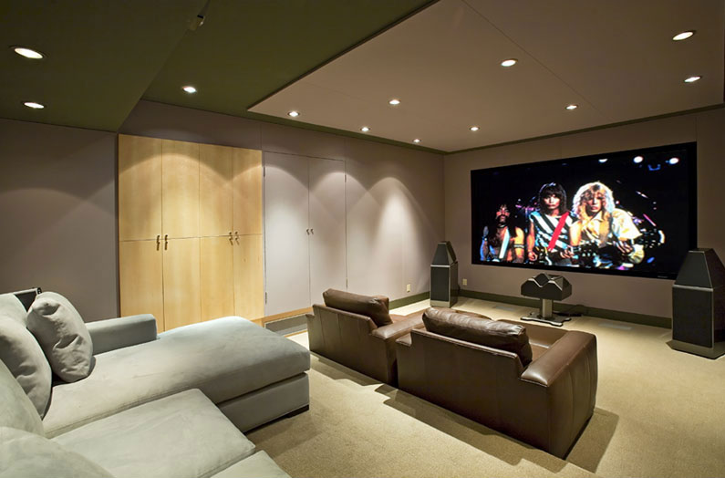 Home theater blog home theater for Modern theater room